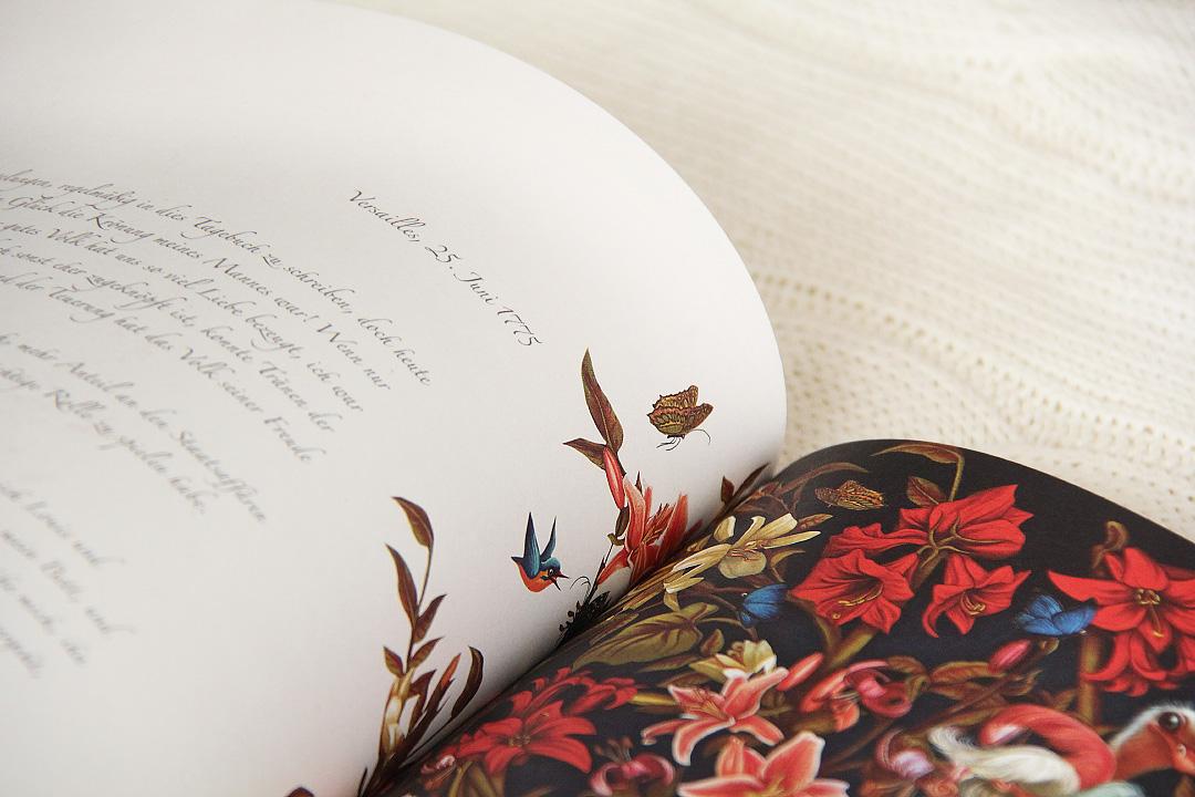 Marie-Antoinette: Das geheime Tagebuch einer Königin von Benjamin Lacombe