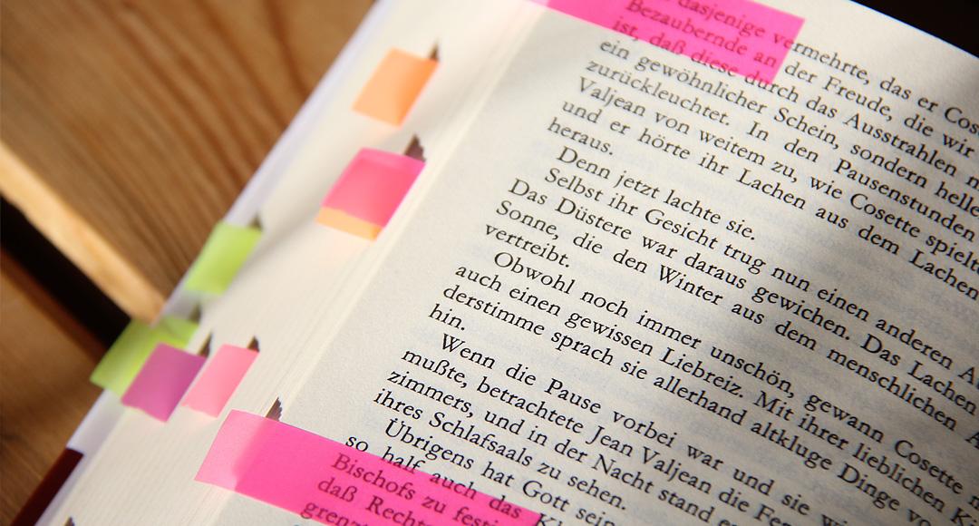 In Büchern gefunden und behalten