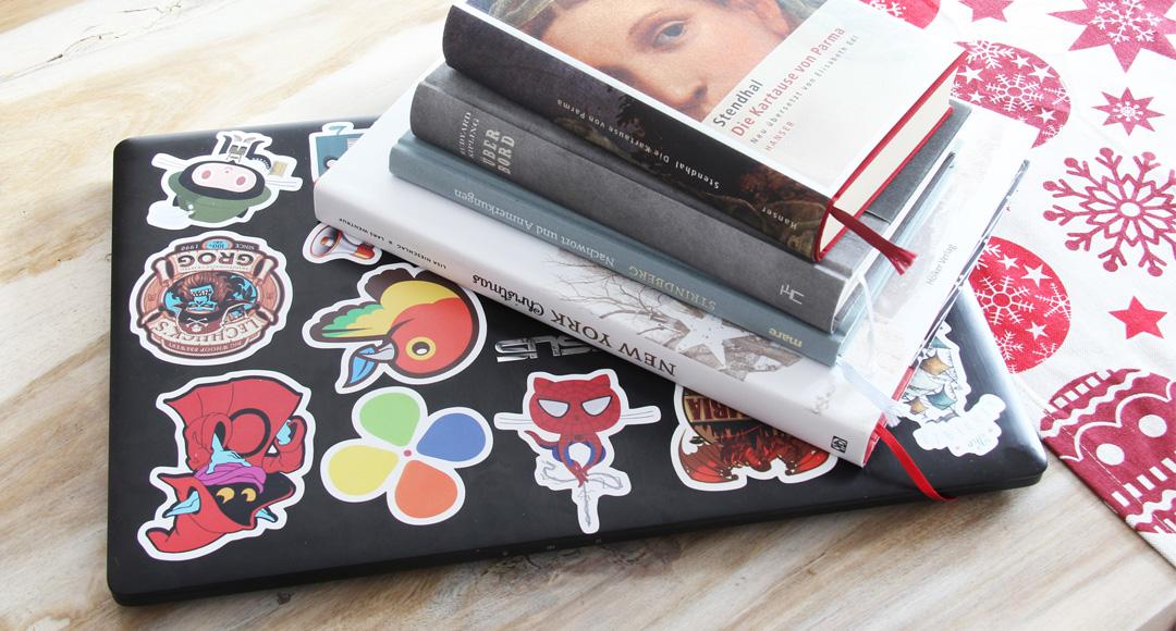 Über Bücher, Blogs und Games