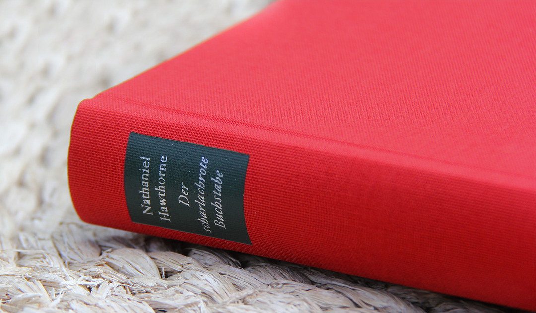 Der scharlachrote Buchstabe von Nathaniel Hawthorne