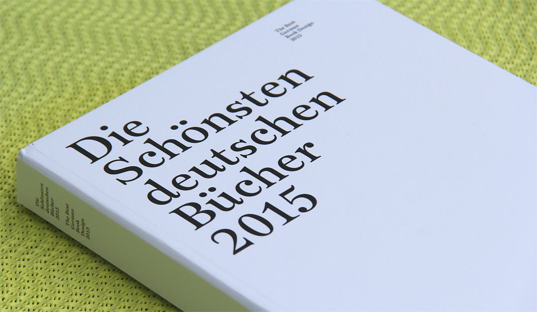 Stiftung Buchkunst - Die Schönsten deutschen Bücher 2015