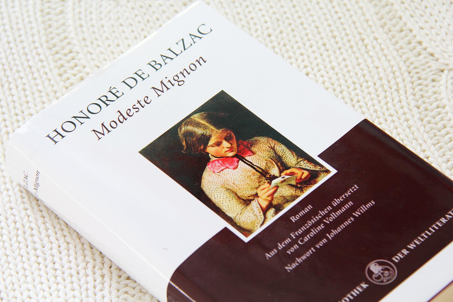 Modeste Mignon • Honoré de Balzac