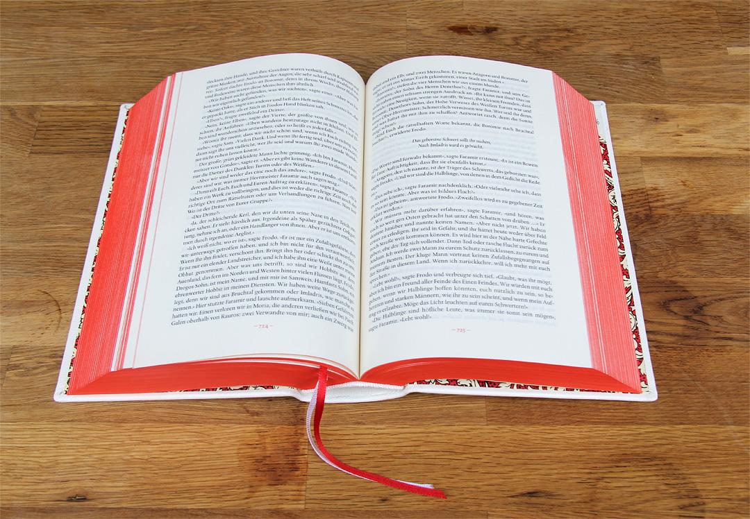 Das Buch ist natürlich ein ziemlich großer Brocken.