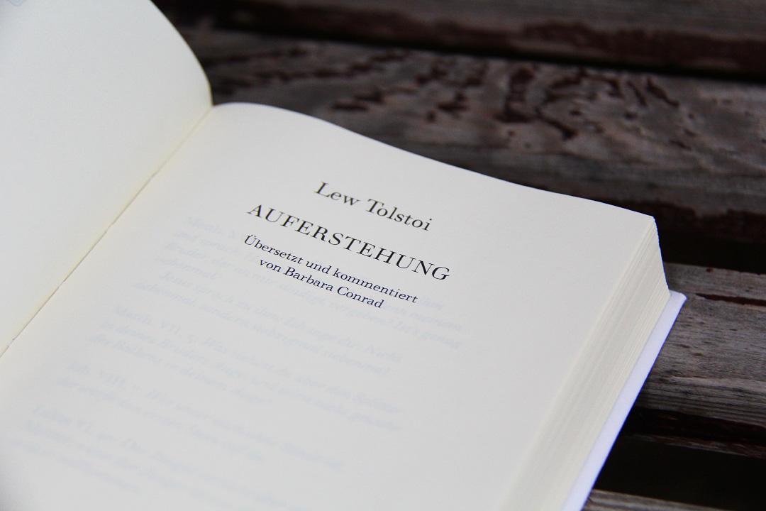 Auferstehung von Lew Tolstoi