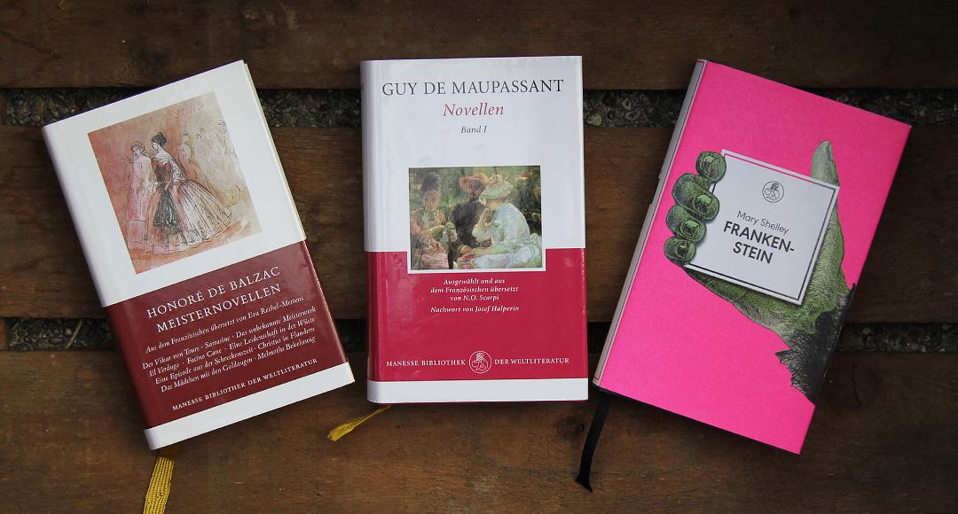 Manesse Bibliothek Relaunch 2017