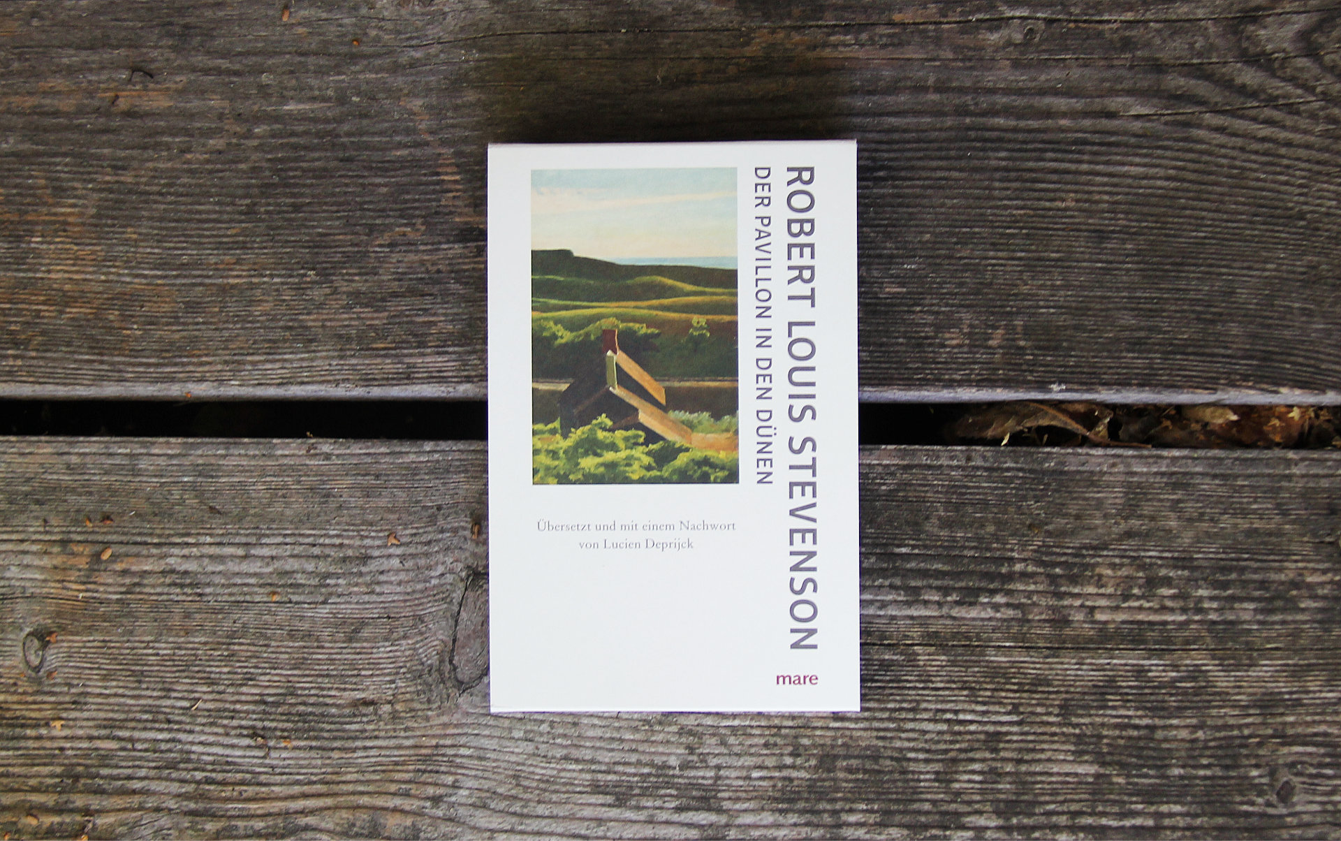 Der Pavillon in den Dünen • Robert Louis Stevenson