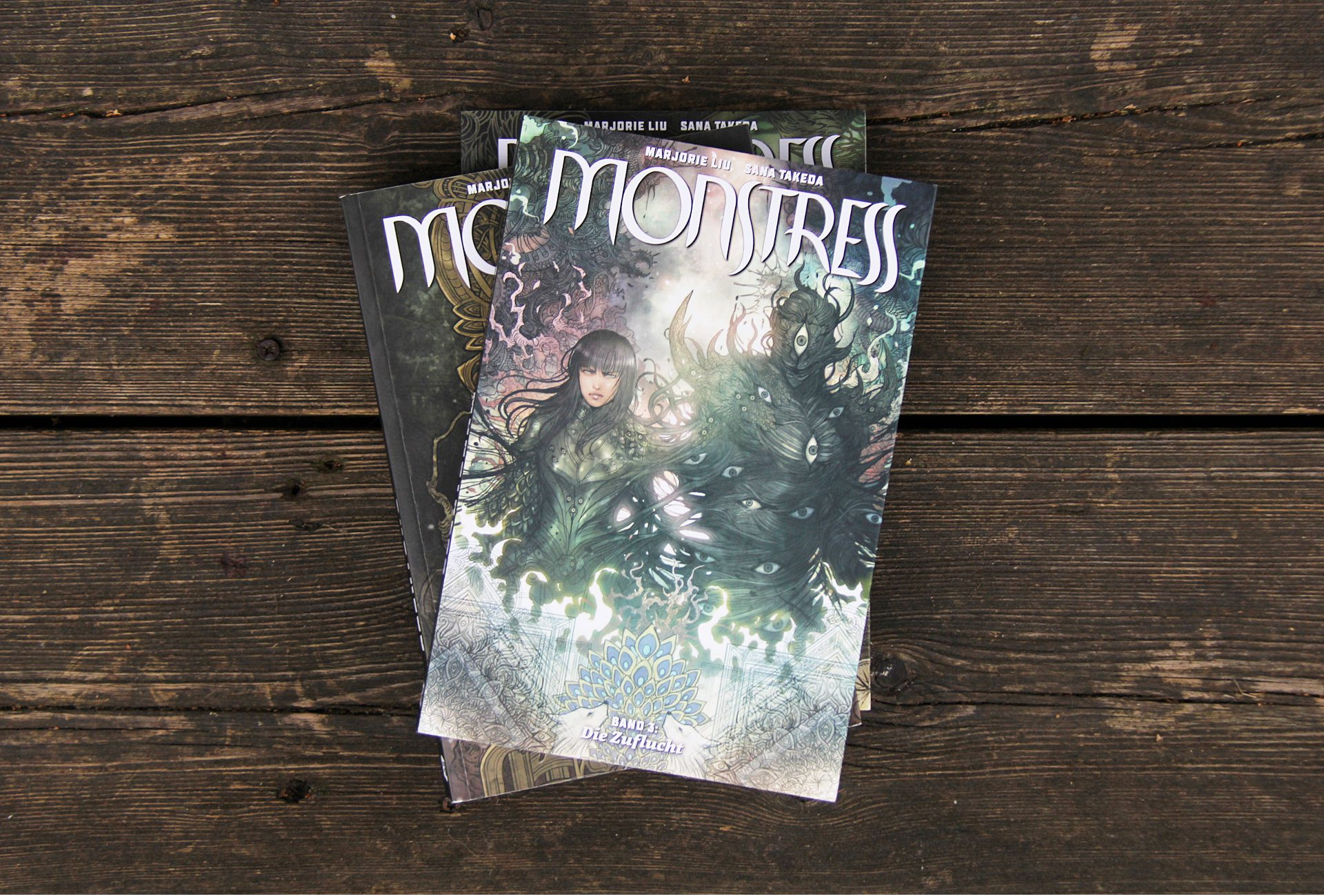 Monstress • Marjorie Liu & Sana Takeda