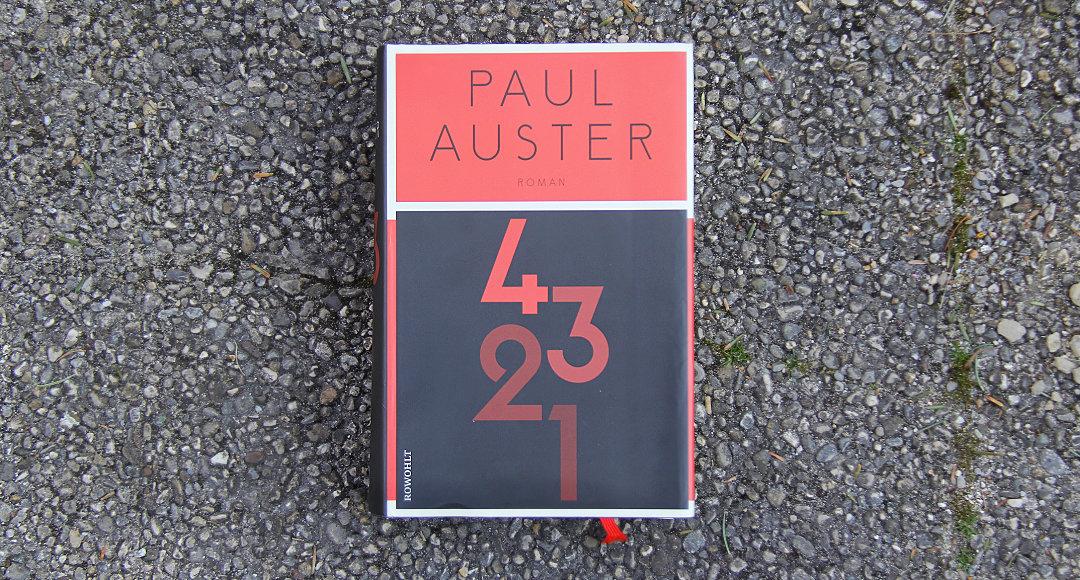 4 3 2 1 • Paul Auster
