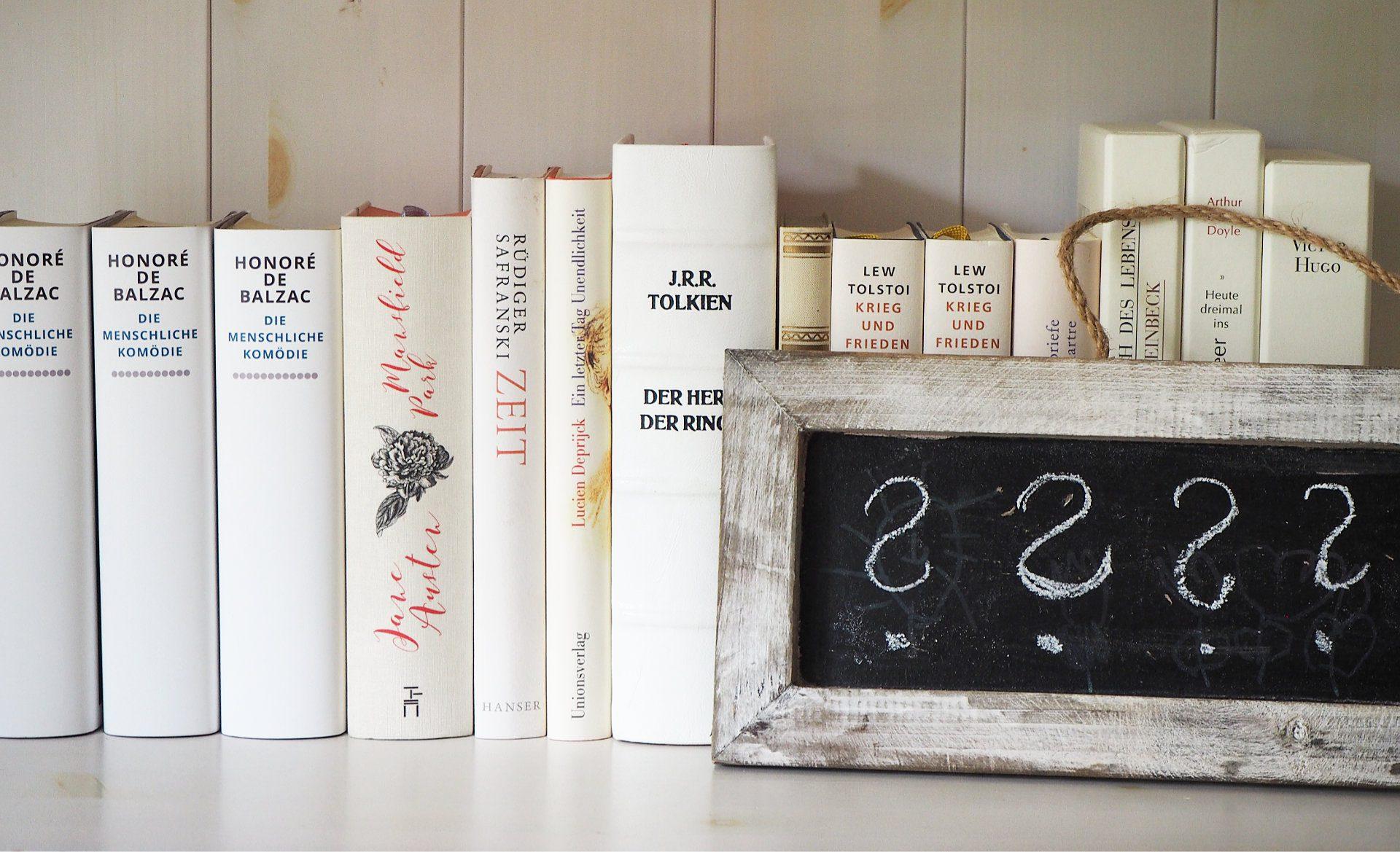 Wie ist das mit deinem Bücherregal?
