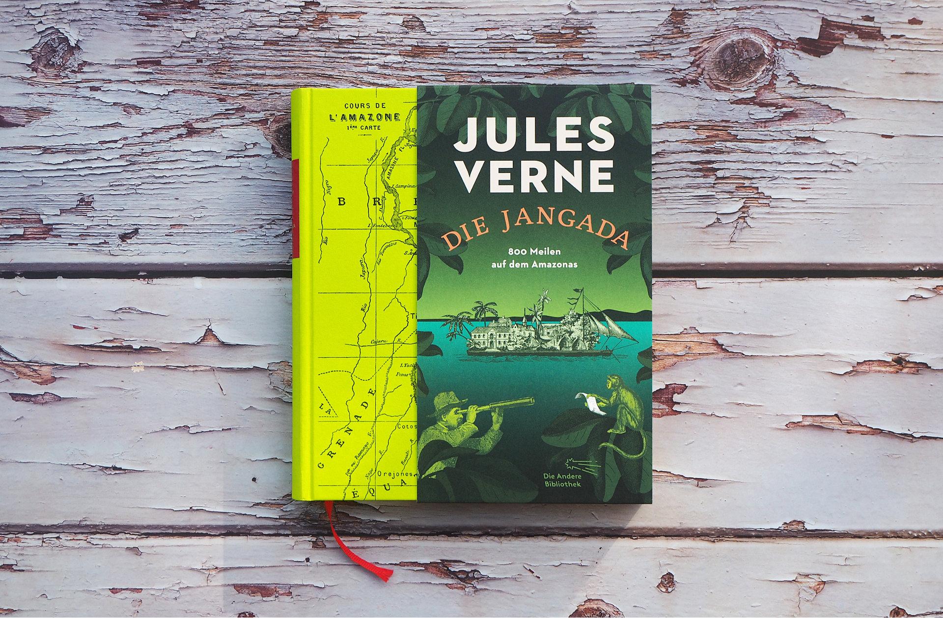 Die Jangada: 800 Meilen auf dem Amazonas • Jules Verne