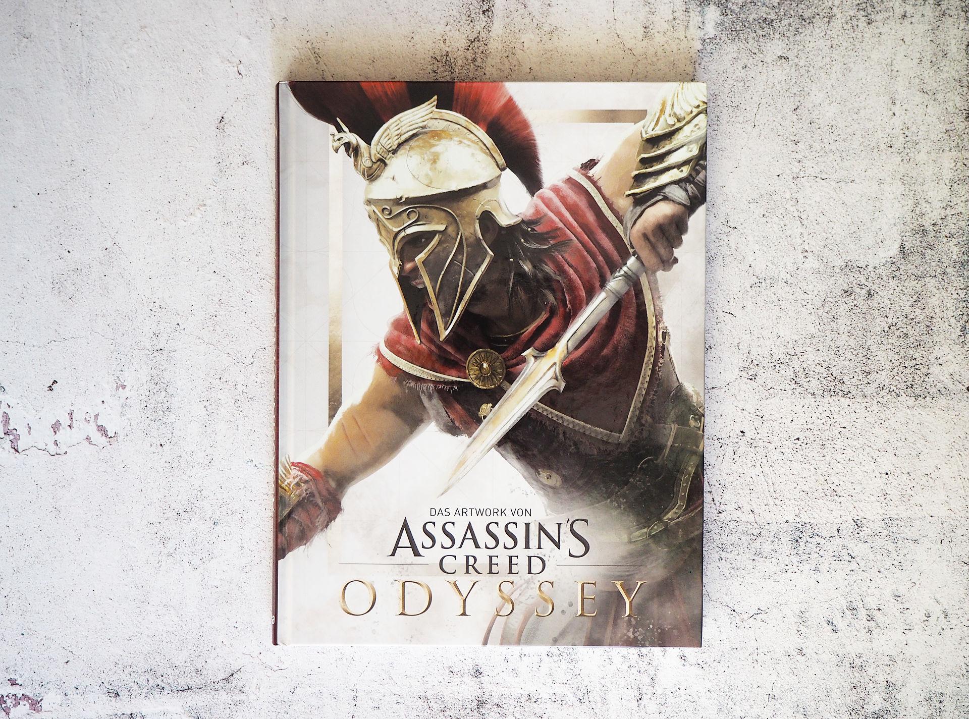 Das Artwork von Assassin's Creed Odyssey • Kate Lewis